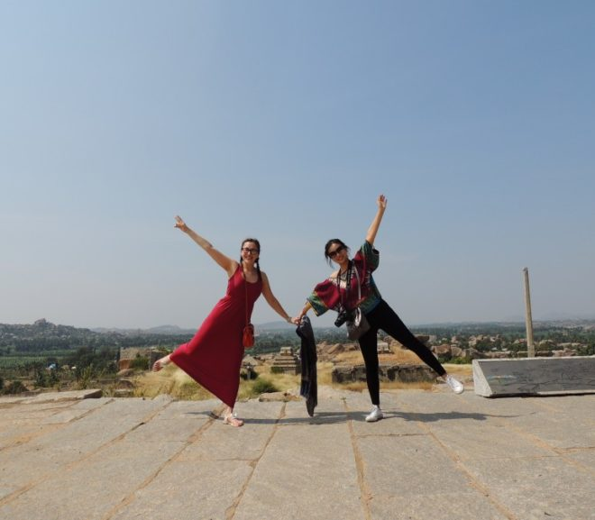 Happy Hampi